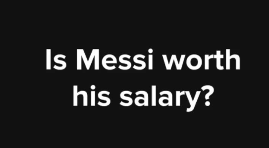 Is he worth his salary?